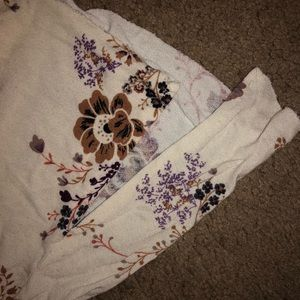 American Eagle Outfitters Tops - Floral Multi Strap Tank